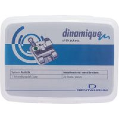 Брекеты самолигирующие металлические Dinamique M
