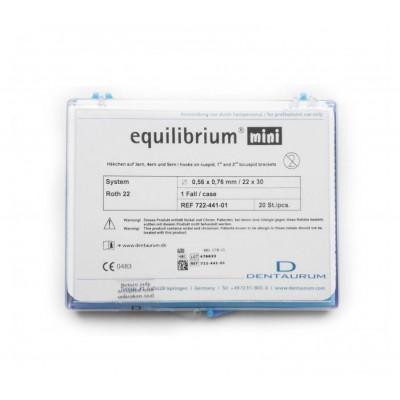 Брекеты металлические Equilibrium (mini )