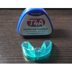 Трейнер для зубов T4А синий Soft (мягкий) Ортодонтический