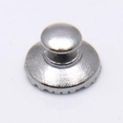 Лингвальная  металлическая кнопка круглый базис 1шт.