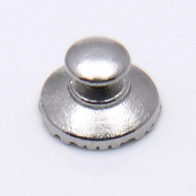 Лингвальная  металлическая кнопка